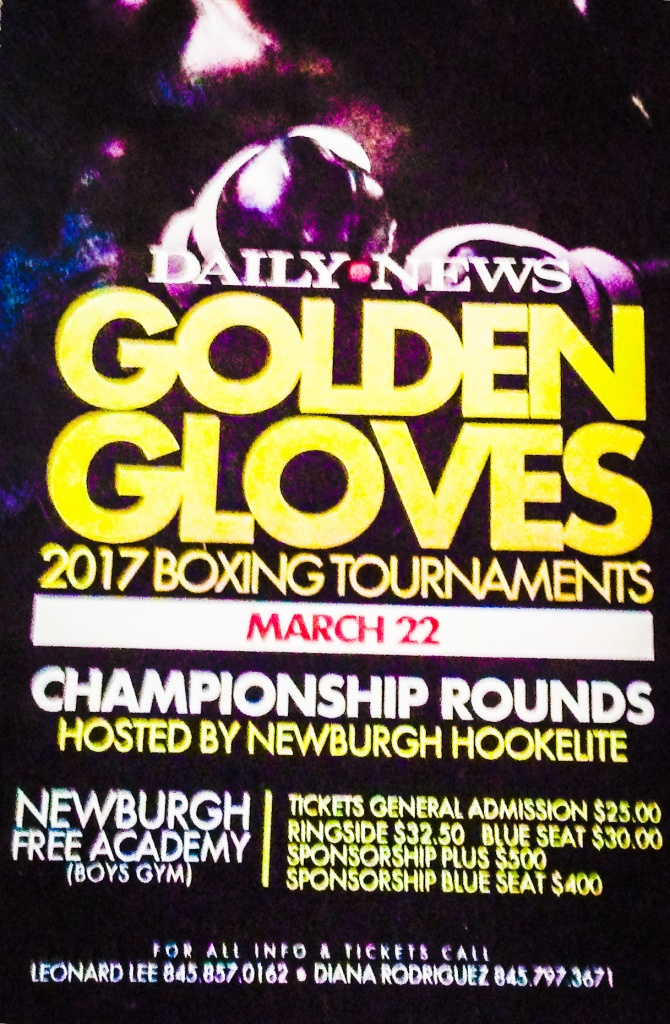 Daily News Golden Gloves Hits Newburgh New York March 22nd