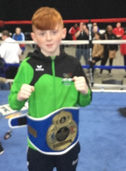 Alfie Jordan bst euro boxer